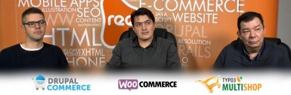 Extension nécessaire au développement de magasin : Commerce Drupal vs. WooCommerce vs. Multishop