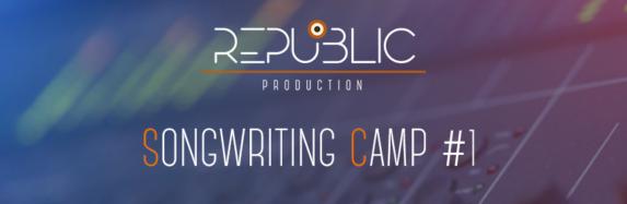 Republic Production Songwriting Camp – Tîrgu-Mureș, 26 – 30 iunie 2017